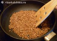 Как сварить гречку в сковородке